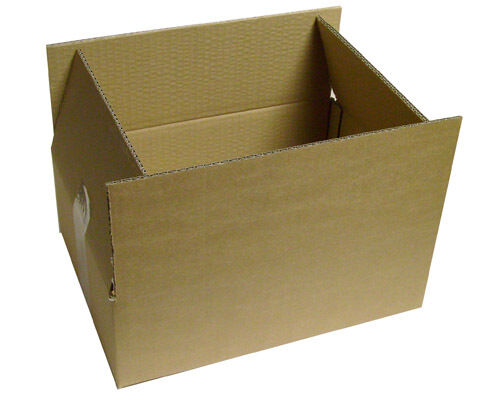 "Moving Storage Cardboard Boxes 13.5 x 9.5 x 4.5/"" S//W"