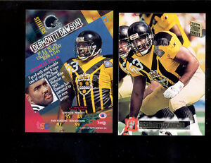 online store cabf5 4e57e Details about 1994 SC Stadium Club DERMONTTI DAWSON Pittsburgh Steelers  Throwbacks Card