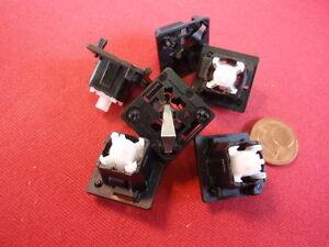 Rationnel Rare Cherry Clavier De Rechange-palpeur (+ Aeg) 19x19x16mm Enfichables! 6x 25033-afficher Le Titre D'origine