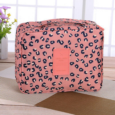 Women Ladies Expandable Travel Hanging Wash Bag Toiletry Organizer Make Up Pouch