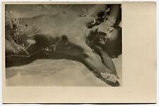 Photo Surimpression - NU - Femme Fleurs - 1930 -