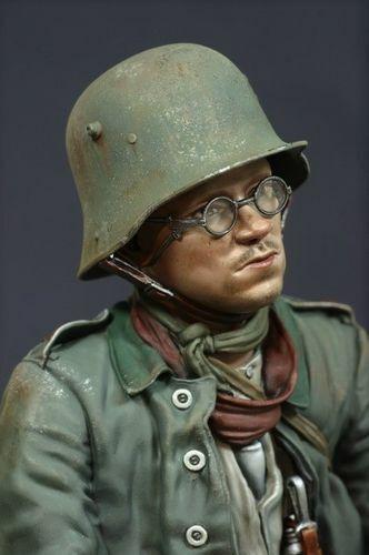 JSM BUST GERMAN PRISONER 1917 1 10 COD.30BGP-1