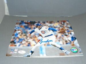 Bruce Sutter Signed Chicago Cubs 8x10 Photo Autographed JSA COA 1A