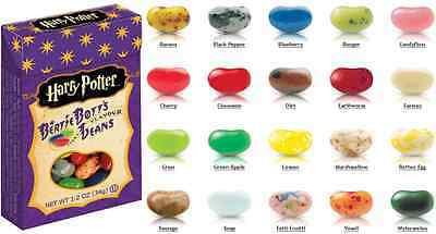 Harry Potter Bertie Botts Beans 3 Boxes 34g by Jelly Belly from Candy Junction