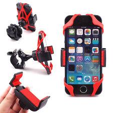 Universal Motorcycle Bicycle Bike Cell Phone Handlebar Mount Holder SmartPhone