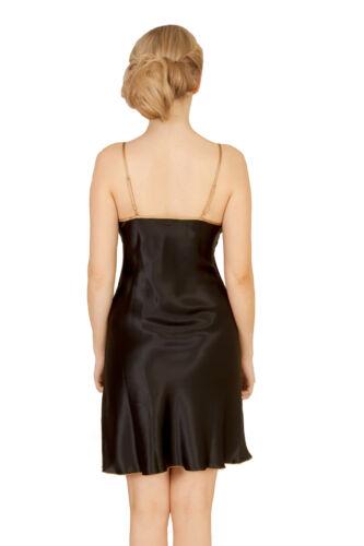 Romance Chemise Avec Silk Taille Boîte Midnight Pure Luxurious M cadeau Nouveau tUSq77