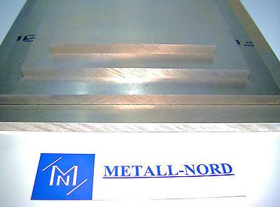 AlZnMgCu1,5 Aluminiumplatte 1000x100x20mm Hochfest ZUSCHNITT AW-7075 Aluminum Al