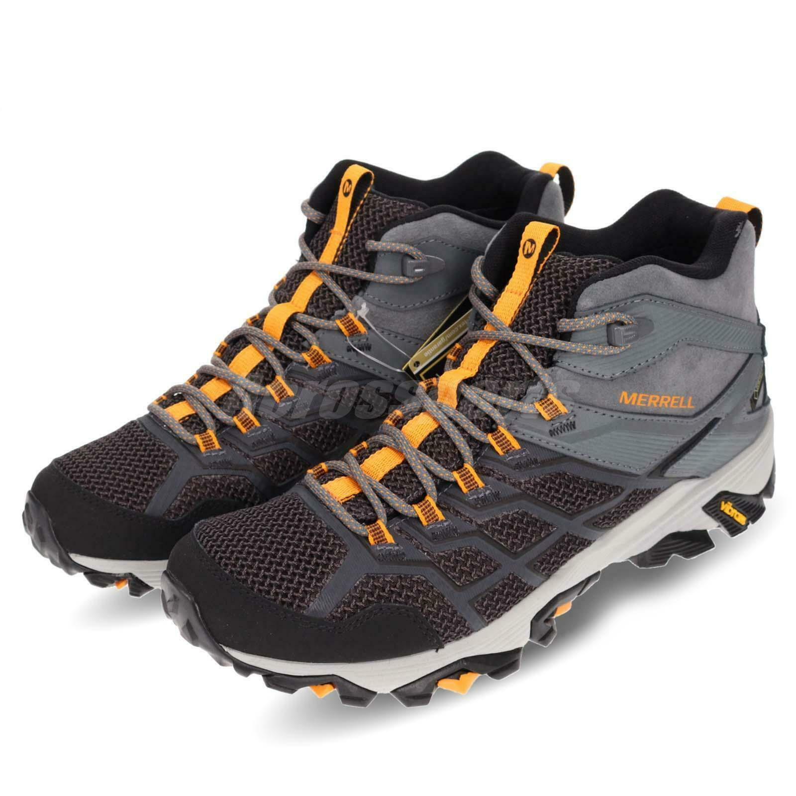 Merrell Moab Moab Moab FST 2 Mid GTX Gore-Tex Uomo donna Outdoors Hiking scarpe Pick 1 6fd892