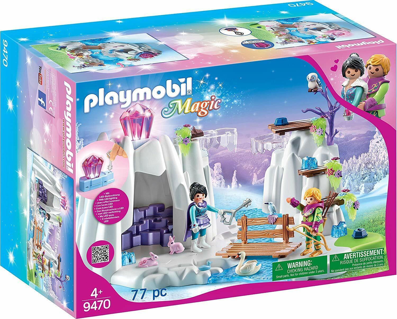 Playmobil Magic 9470. Búsqueda del diamante de cristal. Más de 4 años. 77 piezas
