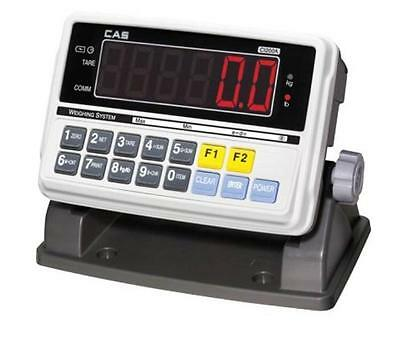 CAS CI-2001A Digital Indicator  replacing floor scale readout,RS232,NTEP NEW