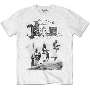 Monty-Python-Knight-Riders-XL-White-T-shirt