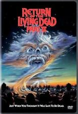 RETURN OF THE LIVING DEAD PART II (2,Two) Ken Wiederhorn Cult Horror R1 DVD *EXC
