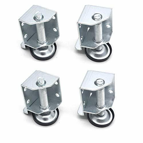 2-1/3 Inch Height 6000 LB Capacity Adjustable Heavy Duty Leveling Feet W/Corner