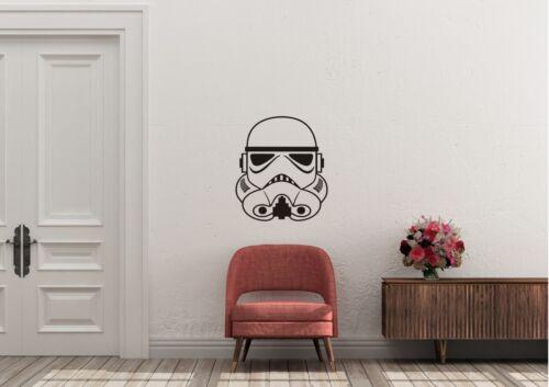 Stormtrooper Star Wars STYLE Wall Art Decal Vinyl Sticker