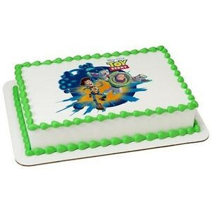 Toy Story Edible Cake Or Cupcake Toppers Decoration Buzz