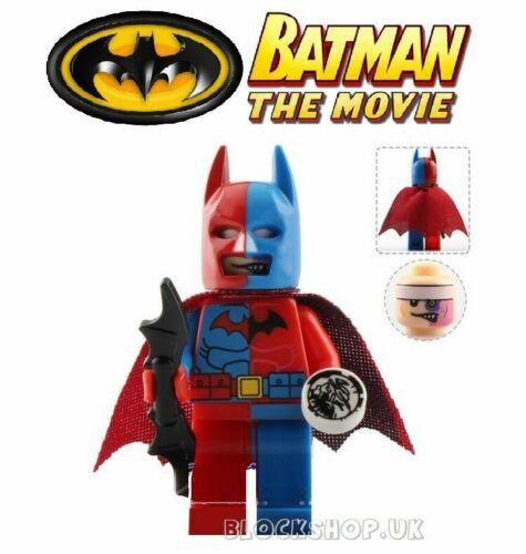 NEW BATMAN MOVIE TWO FACE BATMAN T3 fits lego figure