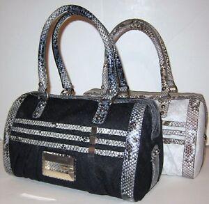 Nieuw Satchel Bow Bag Portemonnee G Snake Sacsignature Logo Large Box Classique Guess IWDEH29