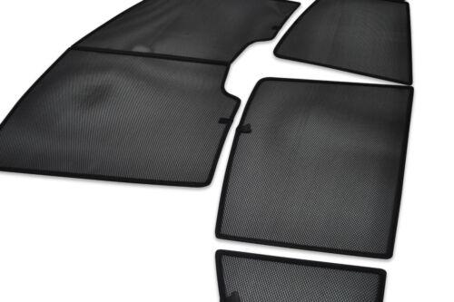 Toyota Yaris 3dr 05-11 UV CAR SHADES WINDOW SUN BLINDS PRIVACY GLASS TINT BLACK