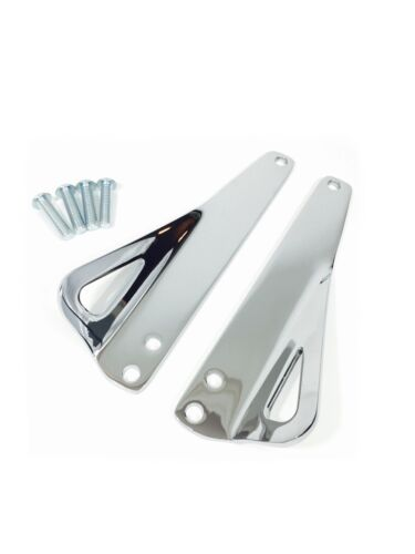 CHROME TIE DOWN BRACKETS HARLEY SOFTAIL HERITAGE CLASSIC ULTRA LIMITED 93500006