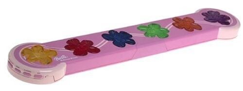Barbie Electronic Balance Beam Gymnastics Game, Pink Pink Pink with Music & Large Flowers  8042c0