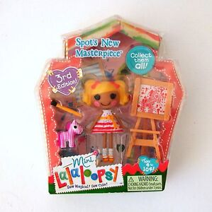 Spots-New-Masterpiece-Mini-Lalaloopsy-New-Doll-6-of-Series-5-Retired-Artist