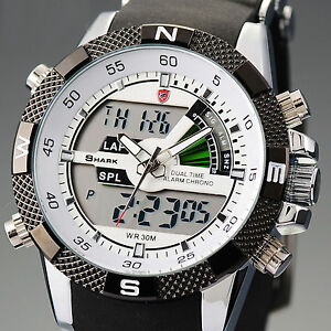 SHARK-MENS-LCD-DIGITAL-DATE-DAY-MILITARY-SPORT-WATERPROOF-WATCH-BOX