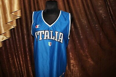 Champion Italia Basketball Jersey (nlv) Gemakkelijk Te Repareren