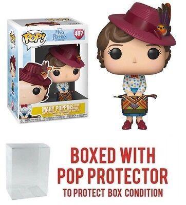 Mary Poppins Mary with Bag POP Disney #467 Vinyl Figure FUNKO