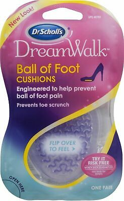 Fast Freepost 2019 Latest Style Online Sale 50% Scholl's Womens Dreamwalk Ball Of Foot Cushions Pain One Pr Lower Price with Dr