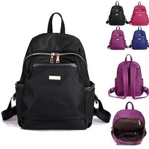 Women-039-s-Water-Resistant-Nylon-Backpack-Rucksack-Purse-Daypack-Cute-bag-Travel