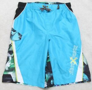 ZeroXposur-Athletic-Shorts-Polyester-Boys-XL-18-20-30-034-x-12-034-Board-Swimming-Surf