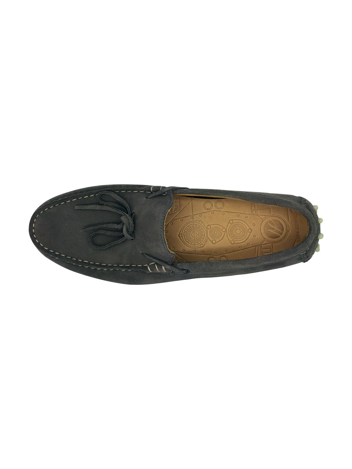 Ausverkauf Schuhe Wildleder Hudson Ricardo Slipper ohne Bügel graue Schuhe Ausverkauf UK 9 EU 43 64aeed