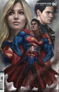 ACTION COMICS #1026 LUCIO PARILLO VARIANT DC COMICS 2020 SUPERMAN SUPERGIRL NM