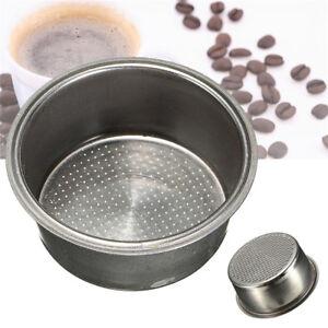 Filtro de Caf/é Cesta Para Cafetera de Acero Inoxidable 2 Taza de Caf/é