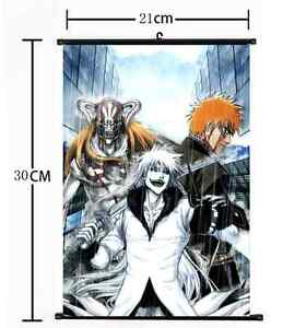HOT Anime BLEACH Wall Poster Scroll Home Decor Cosplay 443