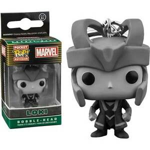 Thor-Loki-Black-amp-White-US-Exclusive-Pocket-Pop-Keychain-NEW-Funko
