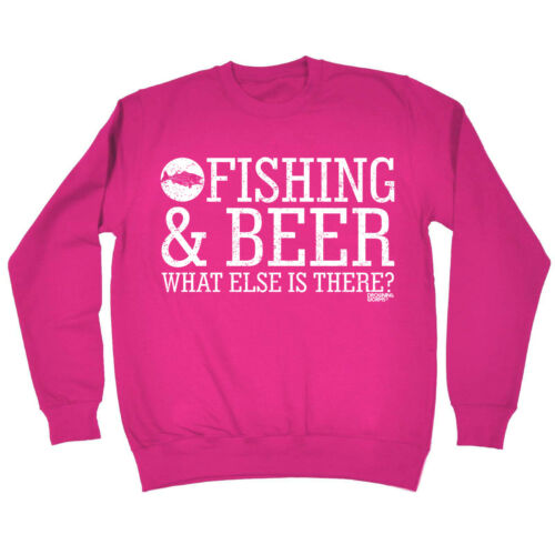 Fishing Sweatshirt Fishing Dad top angling fish rod reel funny BirthdayJUMPER