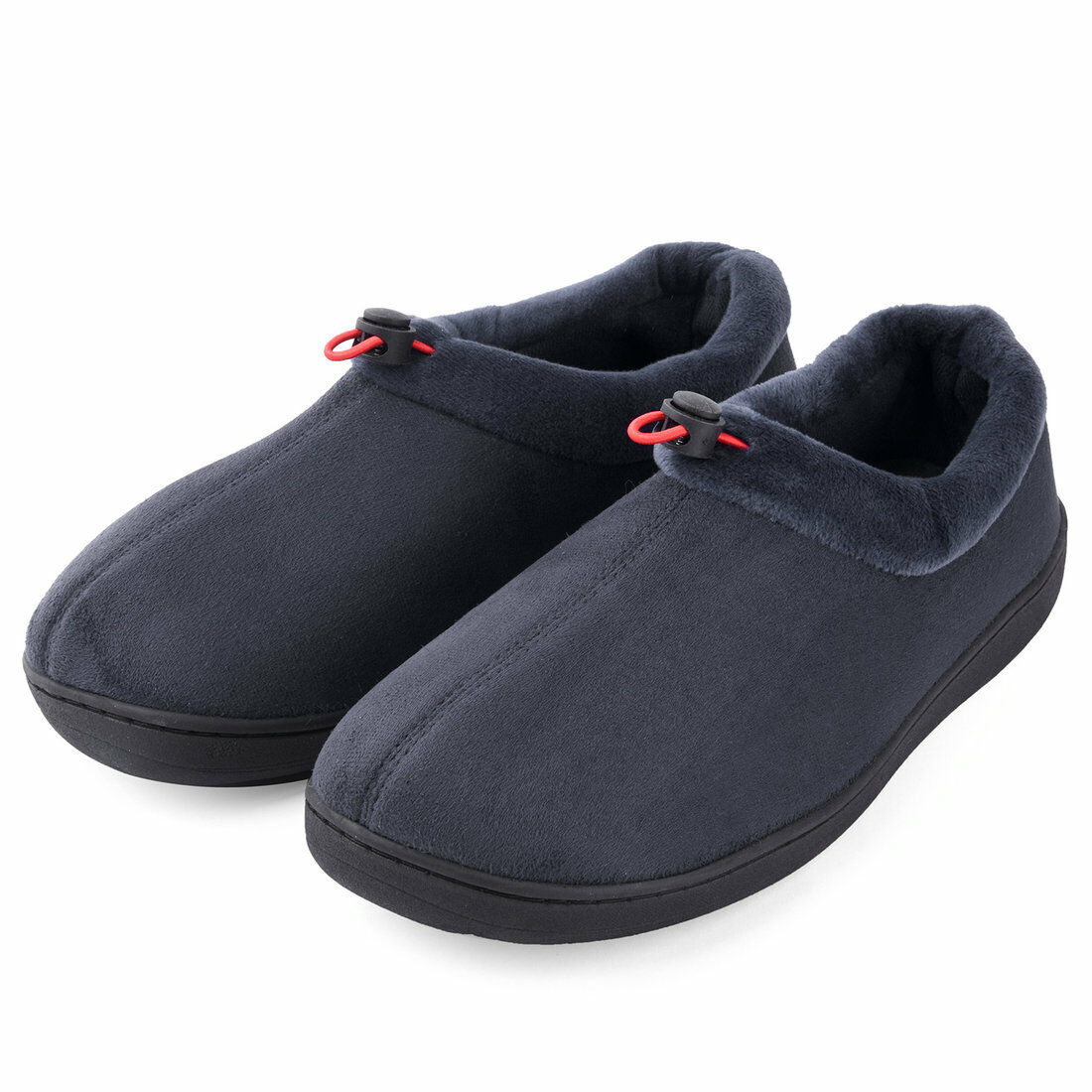 f9f6282a4c3b Dasein Men s Comfort Memory Foam Micro Suede Moccasin Slippers ...