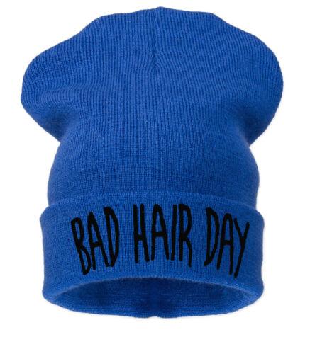 Beanie Hat  Bad Hair Day Woolly Acrylic Unisex Warm Winter Fashion Hat Cap