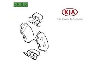 KIA CEED 2007-2012 BPF1734G REAR BRAKE PAD FITTING KIT ANTI RATTLE SHIMS FITS