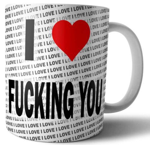 Mug Cup Coffee Christmas Birthday Gift I Love F***ing You Mug Tea