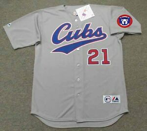 ecd6ffb2504 SAMMY SOSA Chicago Cubs 1996 Majestic Throwback Away Baseball Jersey ...