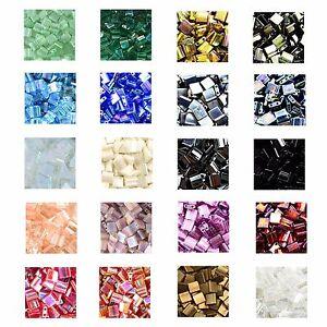 5-Gram-Pack-2-Hole-Miyuki-Tila-Beads-Loads-of-Colours