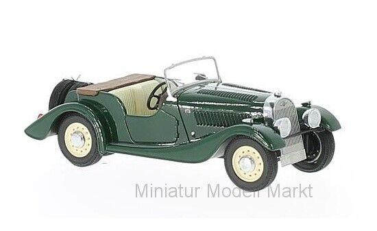 Neo morgan 4 4 Flat Radiator s1-verde-RHD - 1936 - 1 43