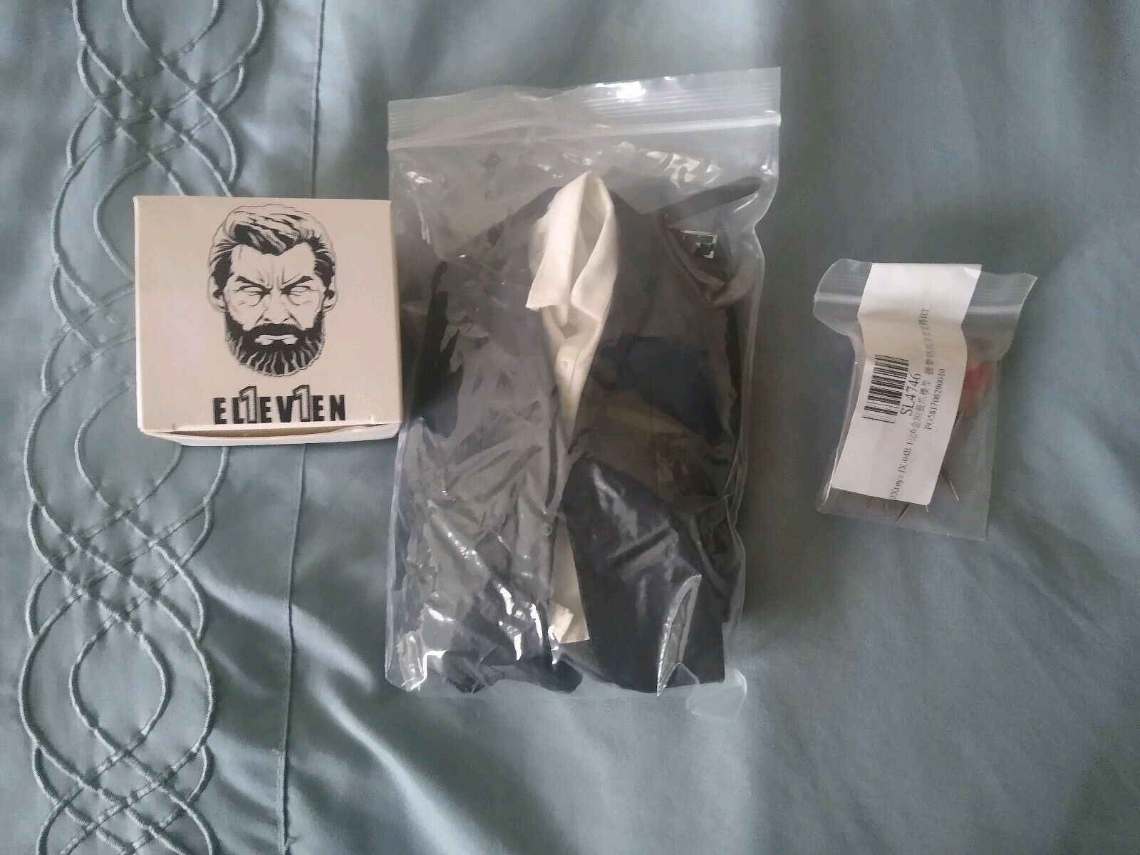 Authentic eleven 1 6 Logan headsculpt ganghood body suit claws Stiefel wolverine