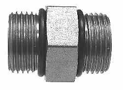 """6403-12-08 Hydraulic Fitting 3//4/"""" Male O-Ring Boss X 1//2/"""" Male O-Ring Boss"""