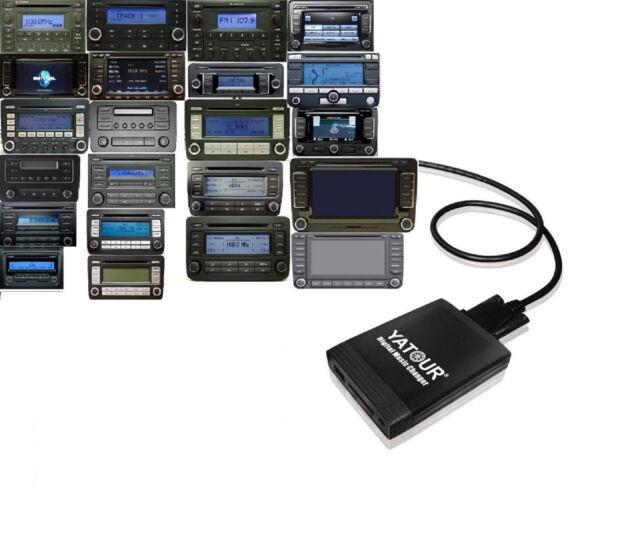 USB SD AUX  Adapter MP3 passend für VW MFD RNS 2 CD/DVD  RNS-E BNS 5.0