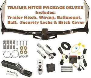 2017 ford escape trailer tow hitch pkg deluxe wiring hitch locks rh ebay com 2014 ford escape trailer hitch wiring harness 2011 ford escape trailer hitch wiring