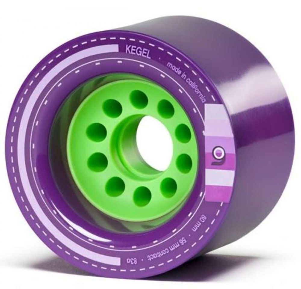 Orangatang Cone - 80mm 83a Purple
