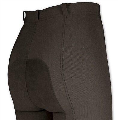 Irideon cadencia Stretch-Cable Asiento Completo Pantalones Pantalones Pantalones de Montar de baja altura XS-Caffe 410b8a